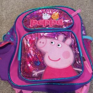 Other - Toddler peppa pig backpack